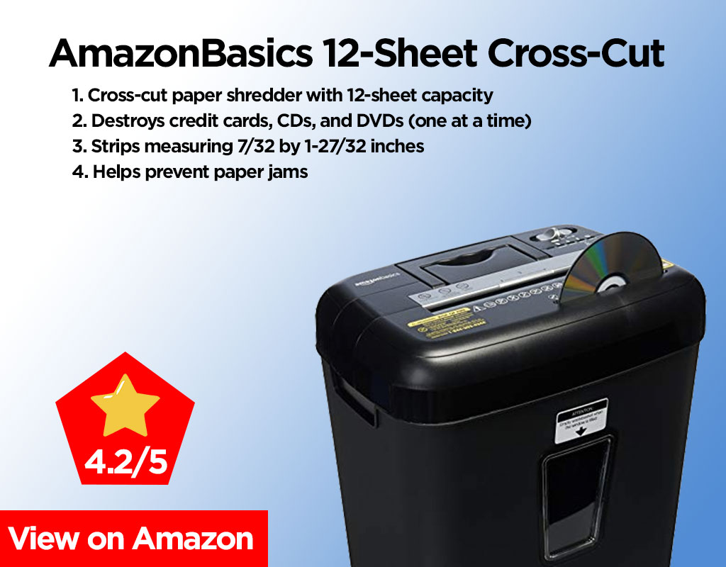 AmazonBasics-12-Sheet Review